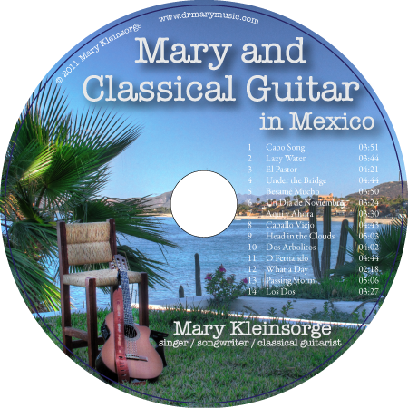 Dr with Classical Guitar in Mexico
